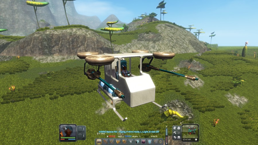 Making your own helicopter is fun!